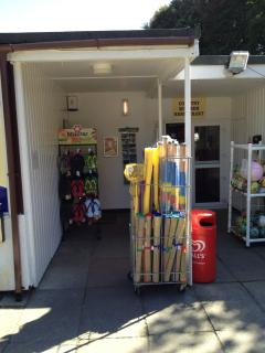 Onsite Shop, perfect for Beach supplies.