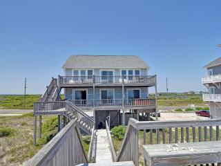 Beach side of house