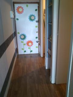 puerta de entrada desde dentro