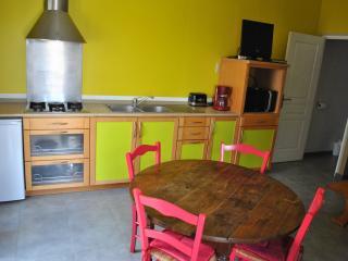 salon cuisine du studio de l etage