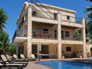 Alexandros Palace- 5 Bedroom Villa on 3 Levels with Seclusion & Views to Latchi