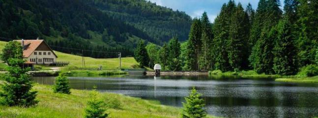 lac de la Ténine à 5mn