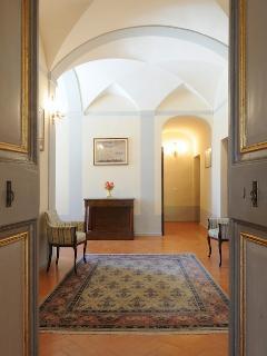 Hall way of Luxury spacious Split level Apartment
