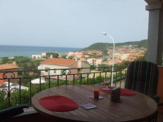Altura - Apartment with fantastic sea view!, Lu Bagnu