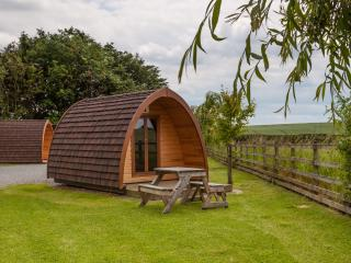 Small Camping Pod, (sleeps 2 adults, 1 child)