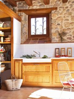 nice open kitchen