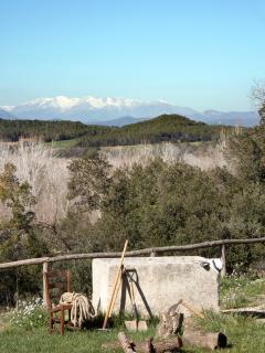 views to the Canigo mountains