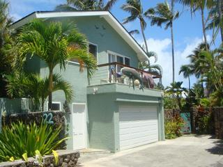 Tropical Luxury 2Bed/2Bath Steps to Kailua Beach