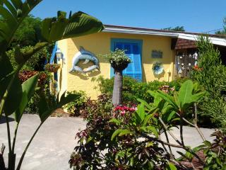 The Guest Cottage, Manatee suite, private, cozy, nothing else like it down town.