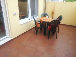 terrazzo con barbecue