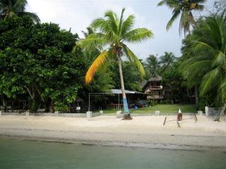 Villa Marguerita situated mid beach in beautiful Port Barton Palawan ( AKA 'The Last Frontier' )