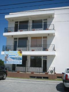 Front aspect. Apartment - top floor right hand balcony