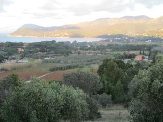 Delightful Tuscan holiday home with sae view on Elba Island, sleeps up to 10, Portoferraio