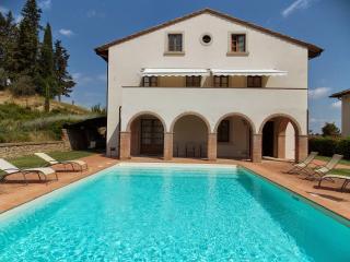 5 bedroom Villa in San Gimignano, San Gimignano, Volterra And Surroundings, Tuscany, Italy : ref 2294047, Pancole