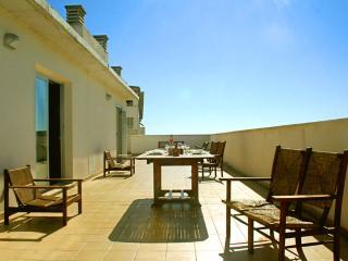 Ático soleado, grandes terrazas, vistas despejadas
