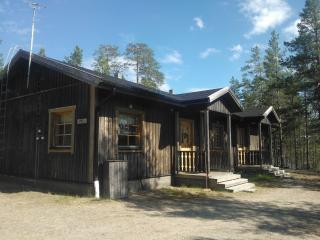 Aimola wilderness cottage in Posio, Salla