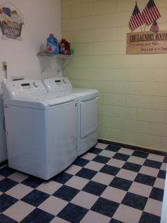 Laundry Room:  Bubbles and Suds Clean Dirty Duds!