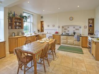 Large Kitchen with sea views, well equippent for 30 people,