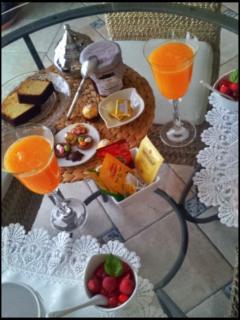 le petit déjeuner Maison