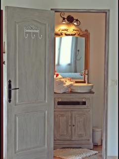 la salle de bain romantique