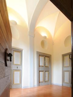 Hall ways in Palazzo Morichelli d'Altemps
