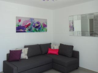 Living Room, very spacious with Smart TV