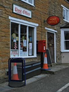 Village post office opposite Holly Cottage