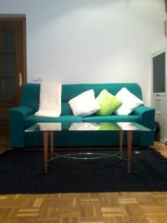 Zona de descanso en el salón