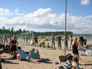 At the Beach in Boviken - 50km away