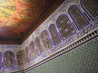 An Antique Royal Suite in Fes, Fez