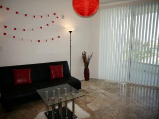 1bed1,5bath loft across the street from the beach ., Miami