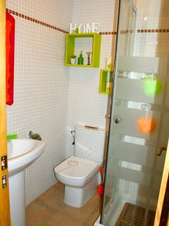 Salle de bain 1 avec douche