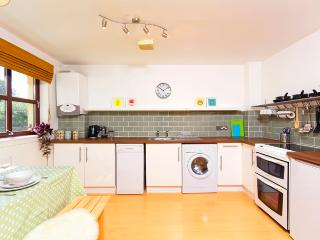 Recently modernised. Dish washer, washer-dryer, oven, fridge, freezer and microwave are shown