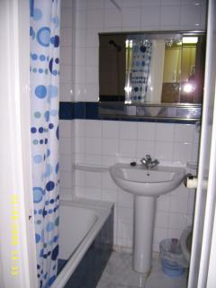 Bathroom / shower.