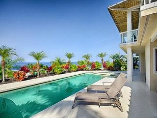 Large 4 bedroom luxurious home with ocean views and pool in gated community-PHKEST4, Keauhou