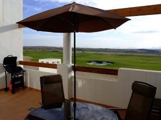 Penthouse with golf views, Alhama de Murcia