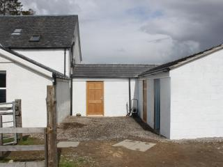 The newly built back extension with walk in drying room and energy centre