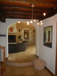 hall d'entrée bienvenue dans notre maison où vous passerez de très bonnes vacances