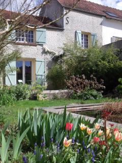 le jardin fleuri ... au printemps