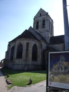 a proximité (4km) : Auvers sur Oise (VanGogh house)