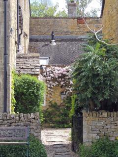 Entrance to Lavender Cottage