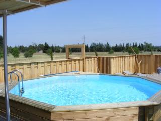 chalet de charme à la campagne avec piscine privée