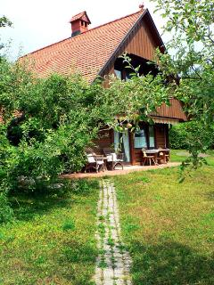 Chalet Depandance A fully equiped and comfortable chalet, with private terrace&garden.