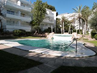 Apto. con piscina junto al mar, Santa Ponsa