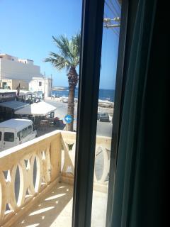 Main bed room balcony