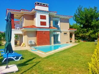Kusadasi holiday villa with the view of Samos isle