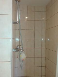 large walk in shower wet room
