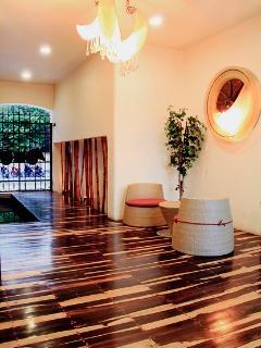 Lobby of condo Building
