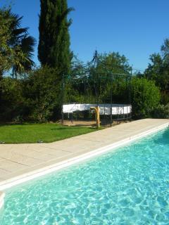 Grande maison avec piscine privee