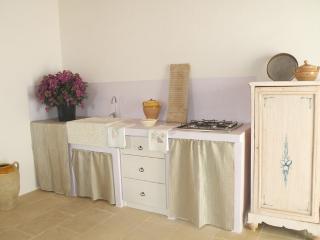 Cucina tipo in muratura
